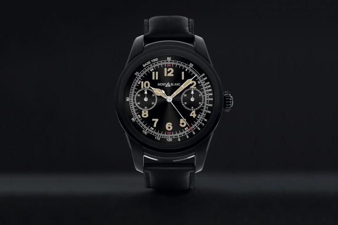 Montblanc 推出全智能腕錶 Summit