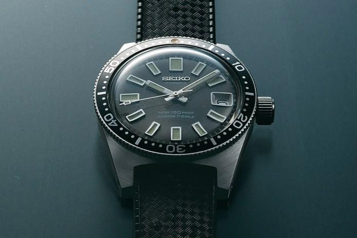 Baselworld 2017 - Seiko 限量重製 1965 首枚潛水腕錶