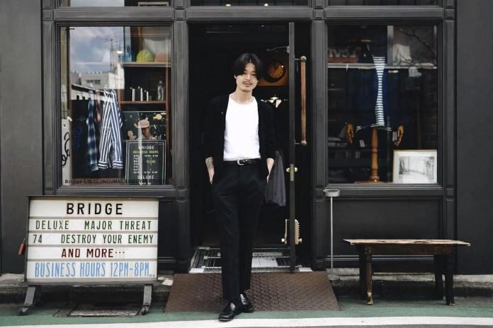 Streetsnaps: 東京買手店 Bridge 公關 Tatsunori Arai