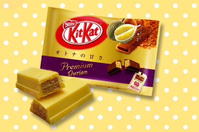 KitKat 將於泰國推出限定版榴莲味巧克力?