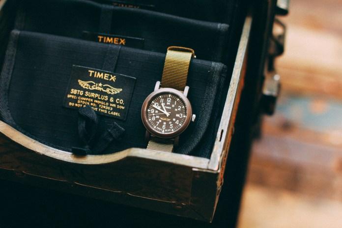 TIMEX x SBTG 聯名客製別注軍錶