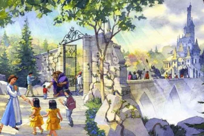 Disney 將開設「Beauty and the Beast」主題園區