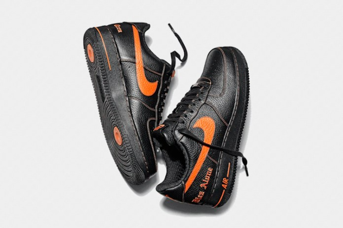 VLONE x Nike Air Force 1 將於藤原浩 THE PARK・ING GINZA 發售