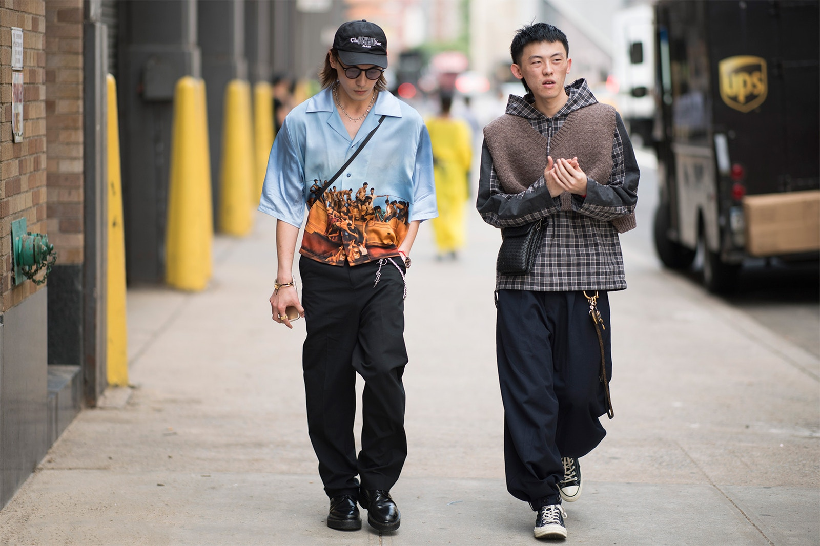 Streetsnaps of 2018 spring/summner new york men's fashion week