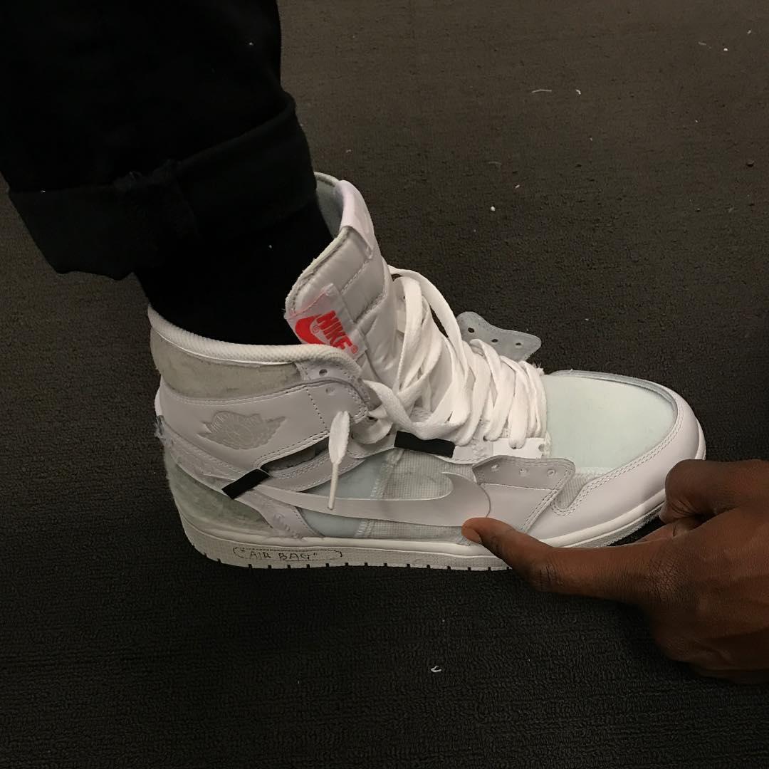 Off-White™ 曝光 Virgil Abloh x Air Jordan 1 初始設計