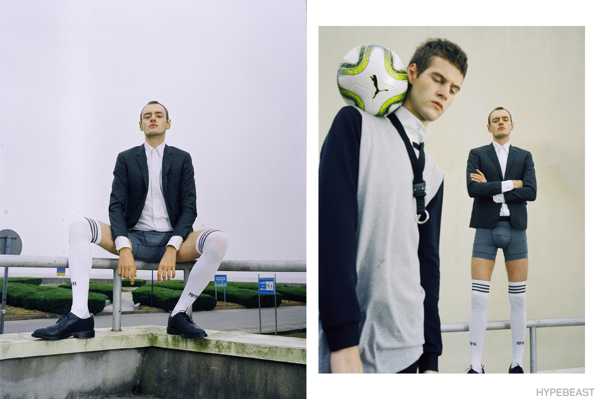 HYPEBEAST 打造「Football Mania」造型特輯