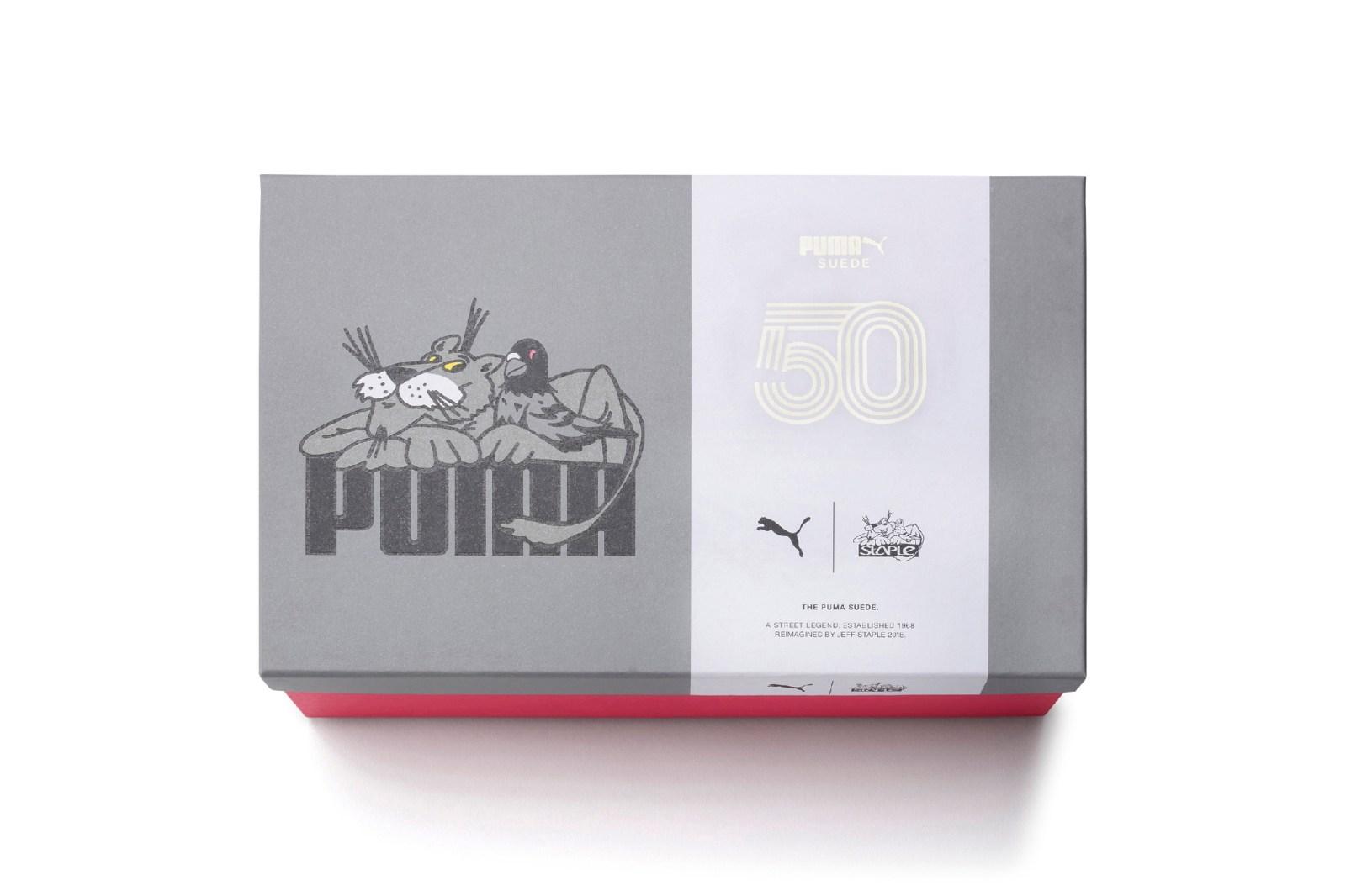 Staple Pigeon x PUMA 全新聯乘 Suede 50 系列登場