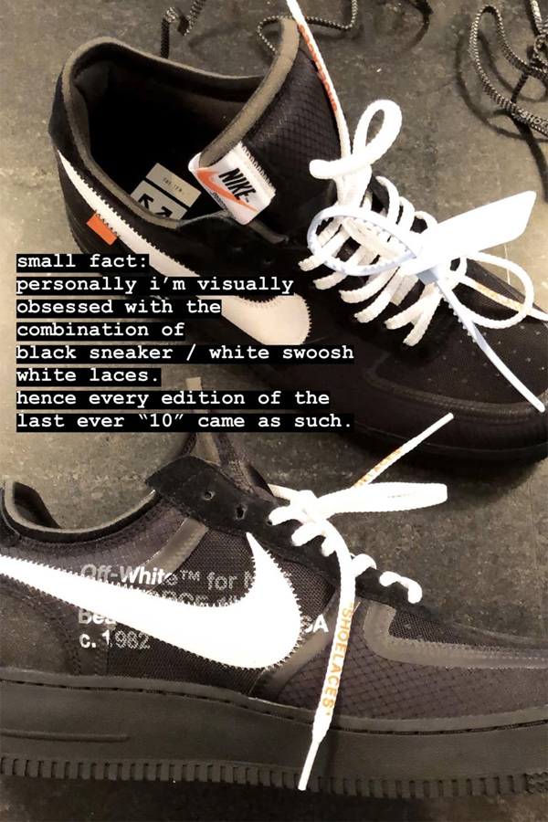 Virgil Abloh 暗示 Nike「THE 10」系列即将结束