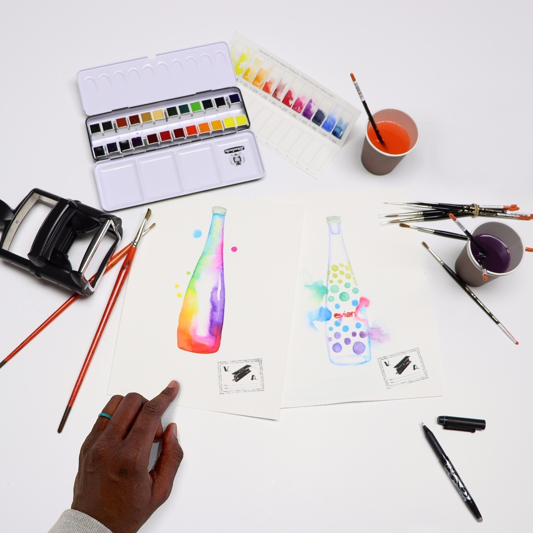 Virgil Abloh 加入 Evian 擔任「持續創新設計」企劃創意顧問