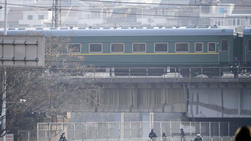 不借飛機 傳金正恩乘火車穿越中國赴越南見川普