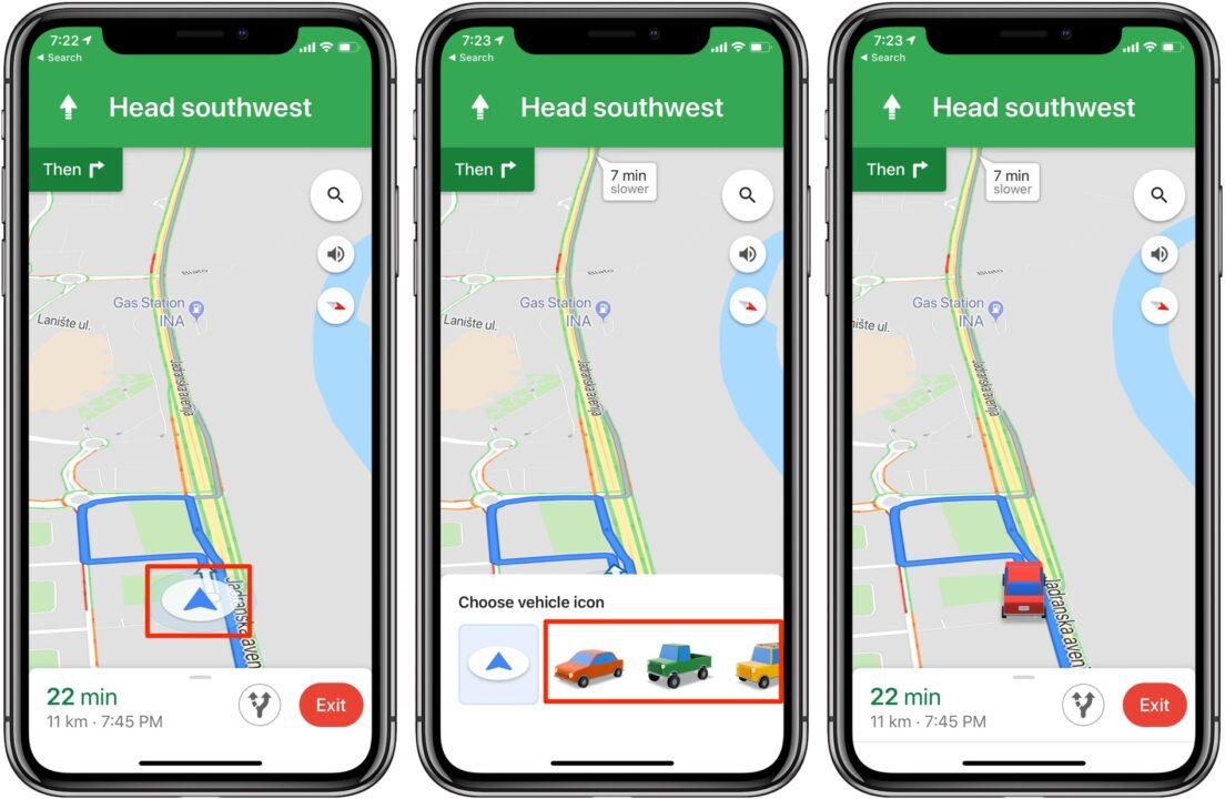 Google Maps 隱藏小功能:1鍵把導航圖標換成小汽車! - TechNave 中文版