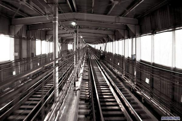 Новосибирское метро. Кабина машиниста (17 фото) » Невседома