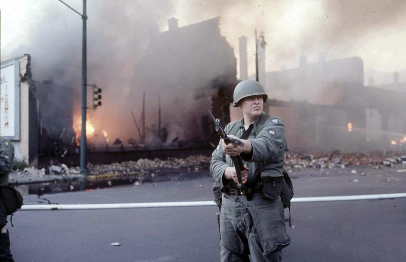 1696 Американский бунт. Детройт, 1967 год