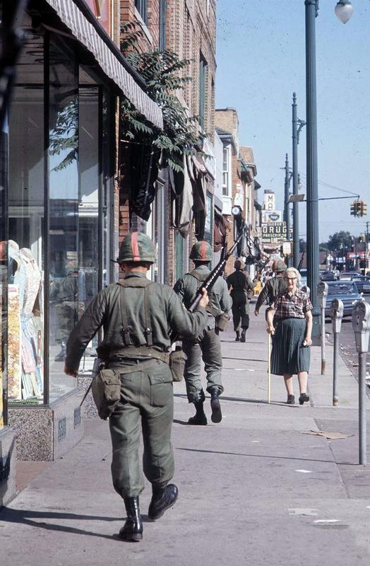 1791 Американский бунт. Детройт, 1967 год