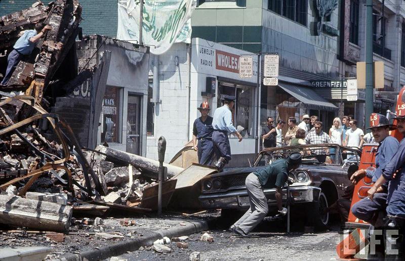 22105 Американский бунт. Детройт, 1967 год