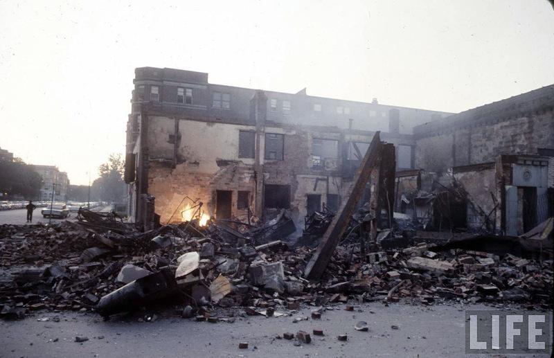 9134 Американский бунт. Детройт, 1967 год
