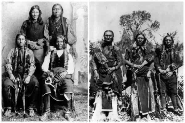 Интересные старинные фото - лица американских индейцев (21 ...