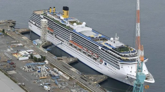 Japan reports 14 more COVID-19 cases on Italian cruise ship Costa ...