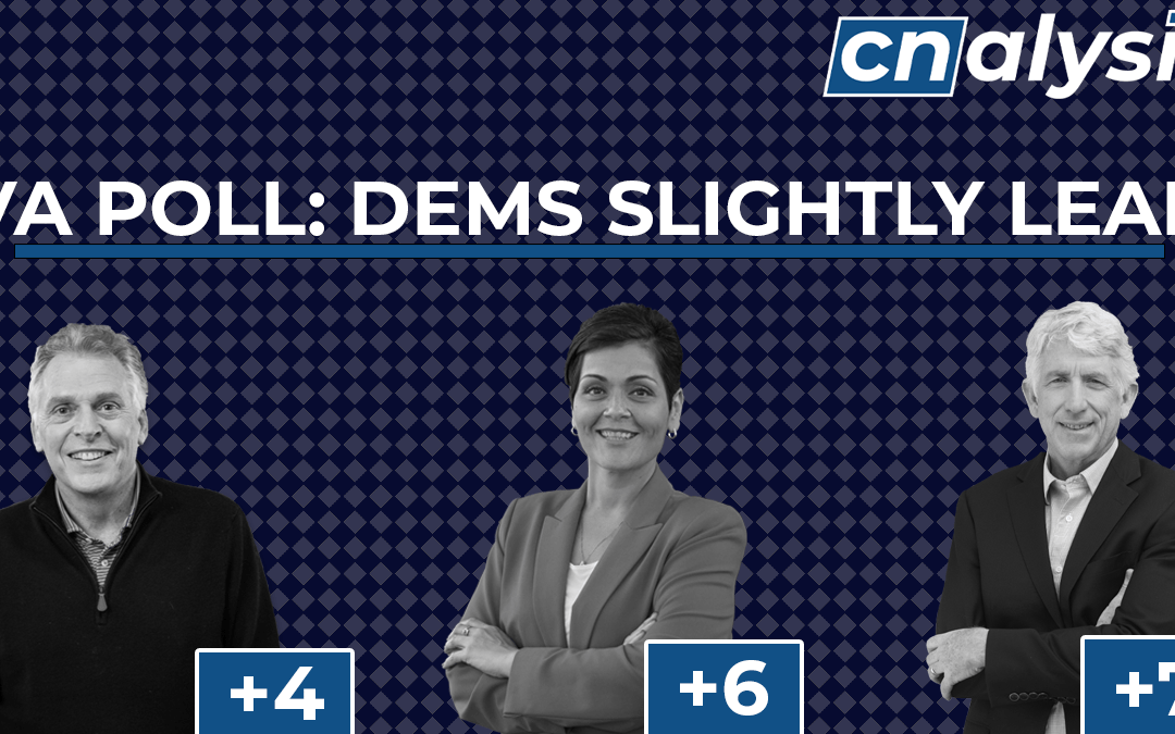 Poll: Democrats Hold Slight Leads in 2021 Virginia Elections