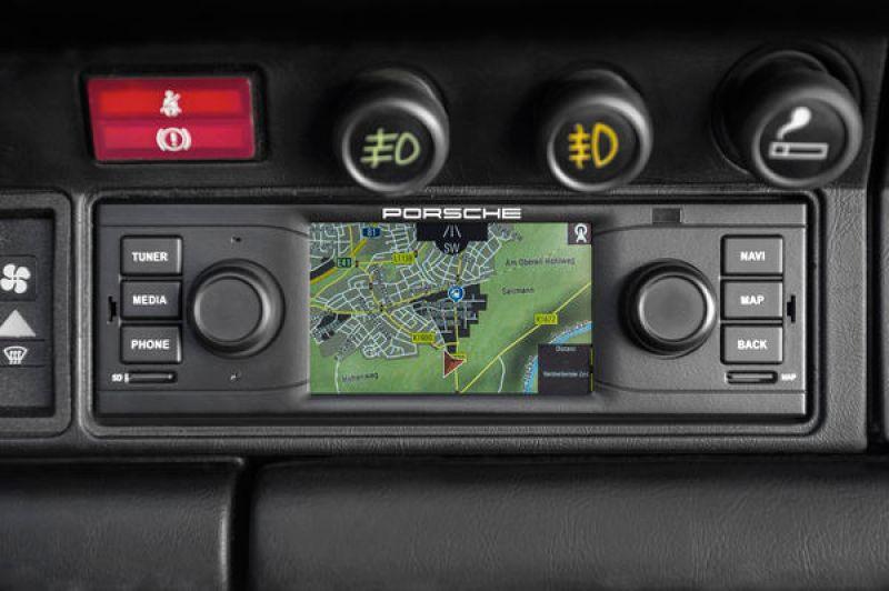 Porsche Classic Radio Navigation System