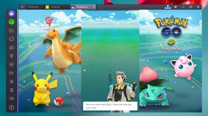 Play Pokémon Go with BlueStacks