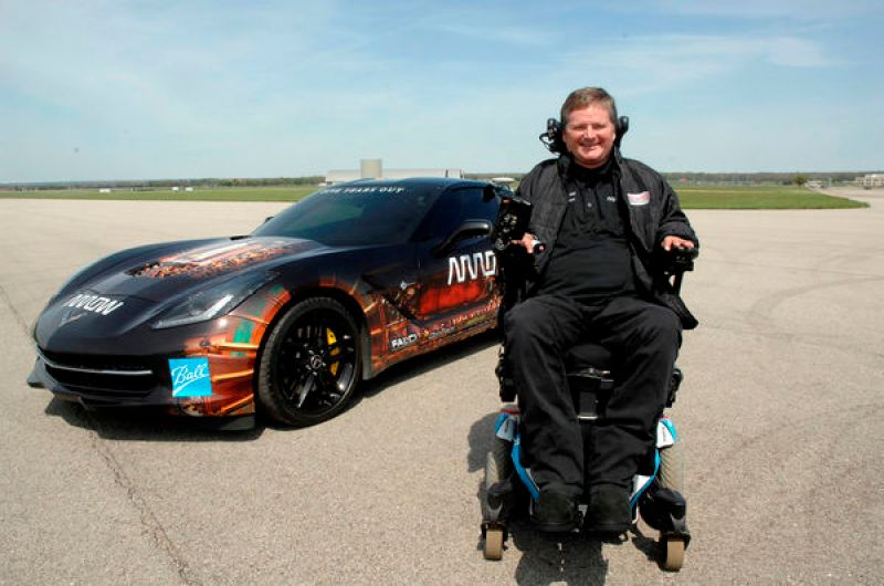 Sam Schmidt and the Arrow SAM Car