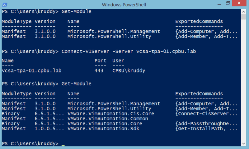 PowerCLI Autoloading Example