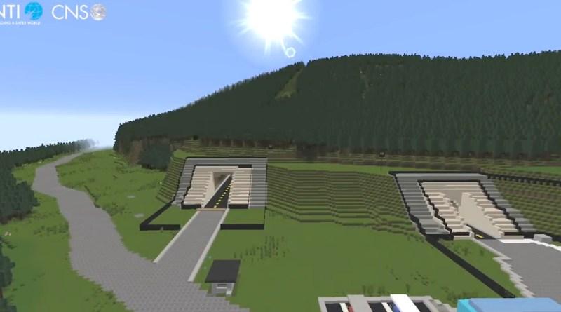 You can visit the Pentagon's secret nuclear bunker inside Minecraft