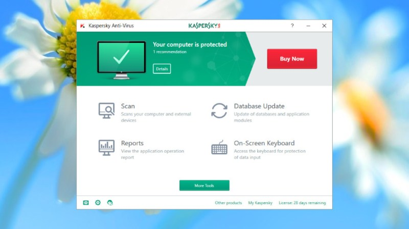 Kaspersky Anti-Virus 2018 is comprehensive and easy to use without alienating more expert users