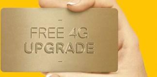Airtel Free 4G Upgrade