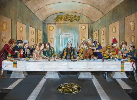 Last Supper Dr Who