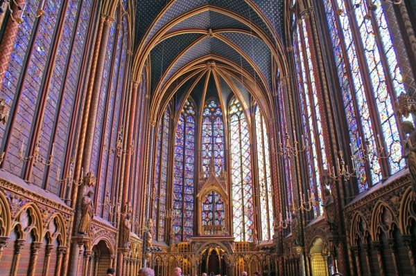 Sainte Chapelle - Gothic Architecture