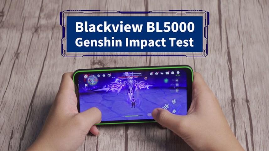 Blackview BL5000 Genshin Impact Tests.