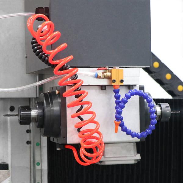 Motor giro automático sobre plano horizontal