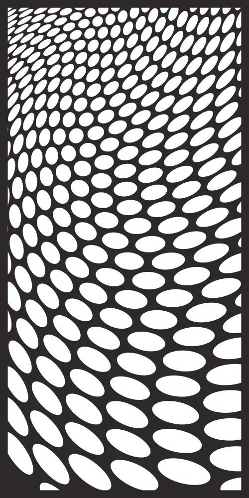 Circles Abstract Pattern Seamless Free Vector