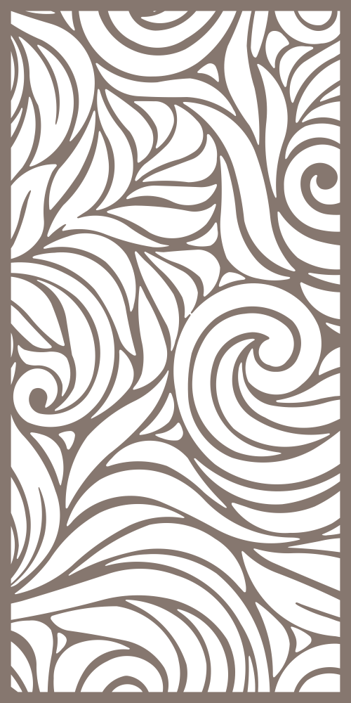 Modern Seamless Floral Pattern Free Vector