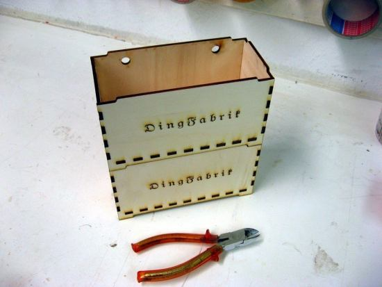 Stackable Box 4mm Plywood Laser Cutting Template DXF File