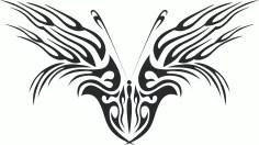 Butterfly Vector Art 046 Free Vector