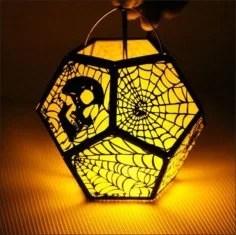 Halloween 3D Lamp Free Vector
