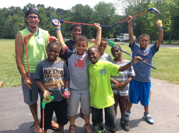 Z - CNSF - Camp Joy - Playing Golf - terrific