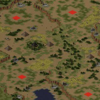 red alert 2 map unholy daratan