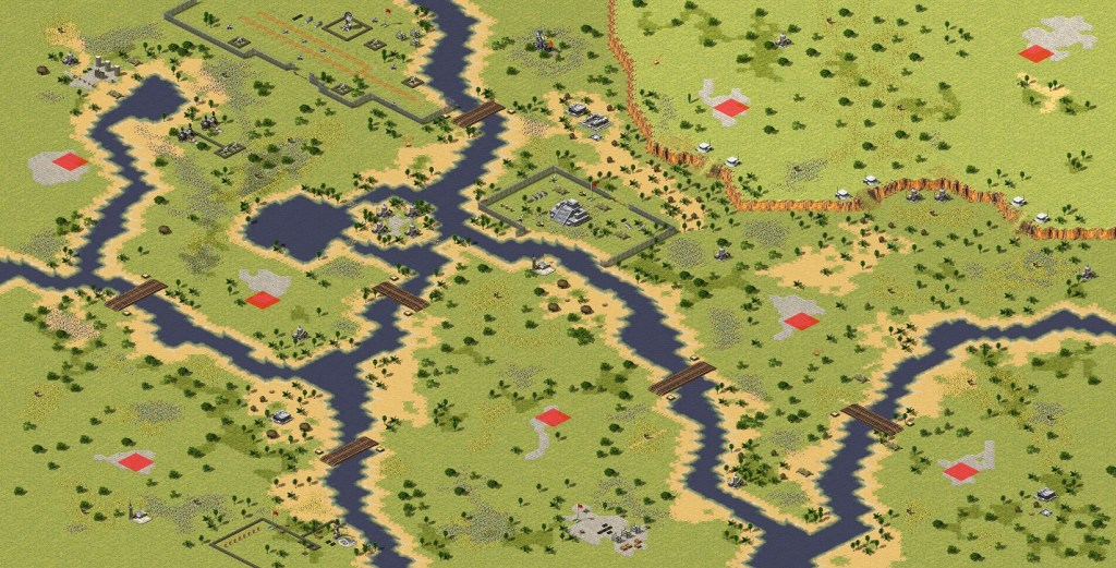 red alert 2 map Lost Paradise