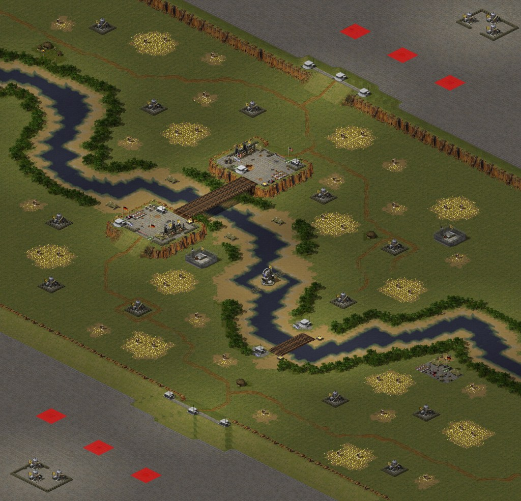 red alert 2 map Separation of The Mighty_2