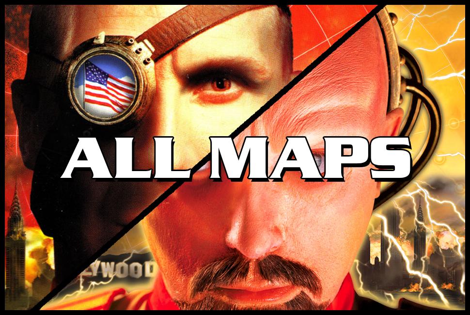 Red Alert 2: Yuri's Revenge maps download