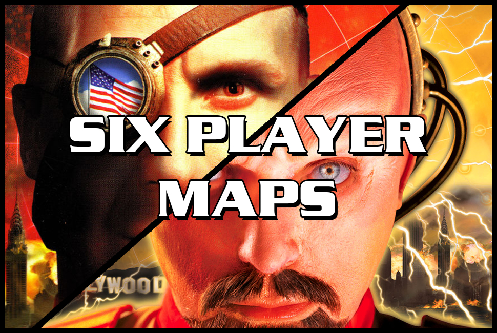 red alert 2 six player maps
