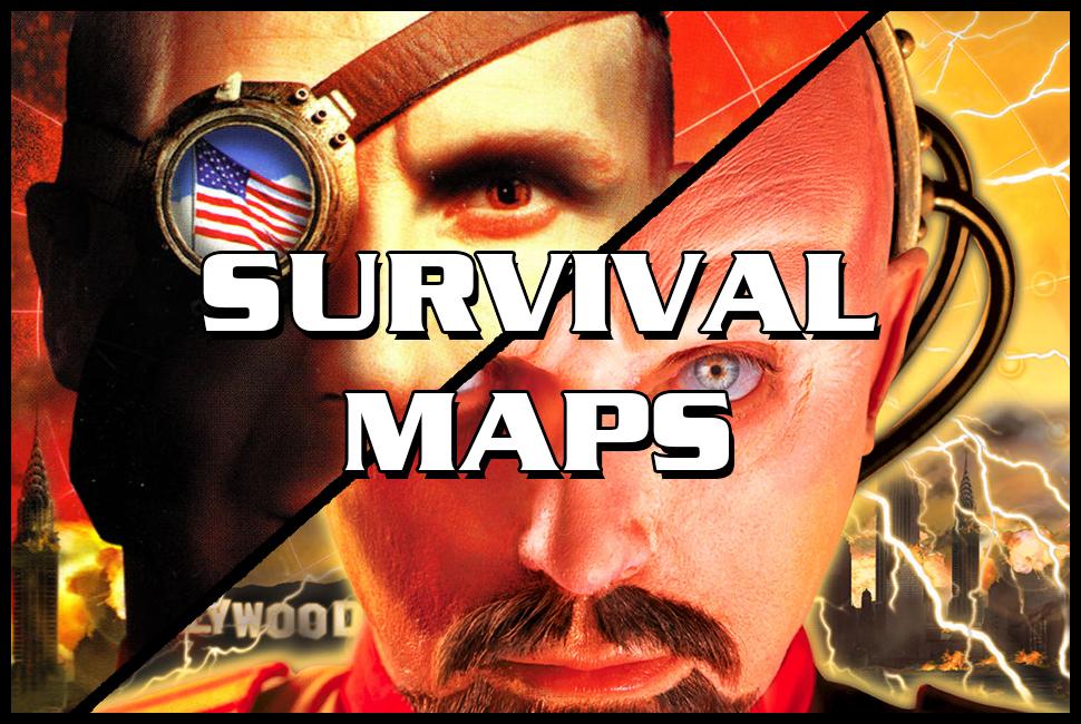 red alert 2 survival maps