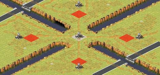 red alert 2 map oil in centr v107
