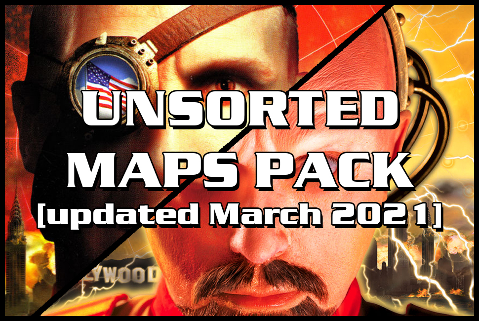 red alert 2 maps pack