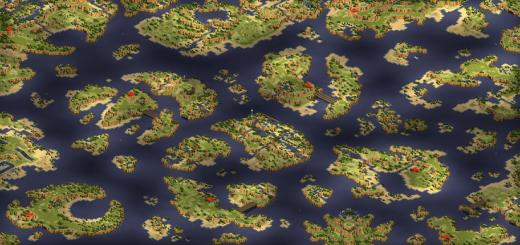 Red Alert 2 map Malaboo Bay V5