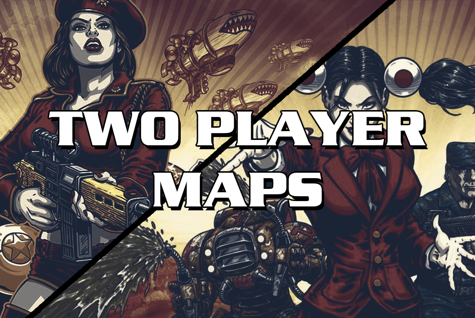 Red Alert 3 two player maps